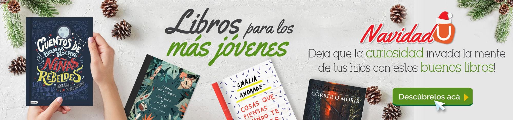 librosJovenes, LibreriadelaU, libros impresos, ebooks, revistas y mucho más