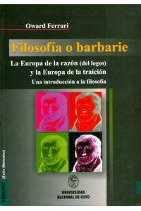 filosofia-o-barbarie-9789503900284-argentina-silu