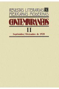 bw-contemporaacuteneos-ii-septiembrendashdiciembre-de-1928-fondo-de-cultura-econmica-9786071659019