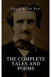 bw-edgar-allan-poe-complete-tales-and-poems-the-black-cat-the-fall-of-the-house-of-usher-the-raven-the-masque-of-the-red-death-atoz-classics-9782378072124