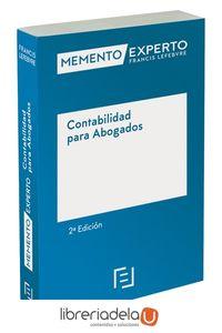 ag-memento-experto-contabilidad-para-abogados-lefebvreel-derecho-sa-9788416924523