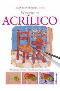bw-guiacutea-para-principiantes-pintura-al-acriacutelico-parramn-paidotribo-9788434242333