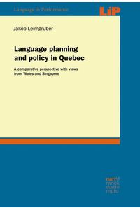 bw-language-planning-and-policy-in-quebec-narr-francke-attempto-verlag-9783823301851