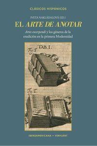 bw-el-arte-de-anotar-iberoamericana-editorial-vervuert-9783968691008
