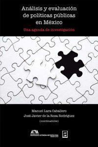 bw-anaacutelisis-y-evaluacioacuten-de-poliacuteticas-puacuteblicas-en-meacutexico-juan-pablos-editor-9786077114987