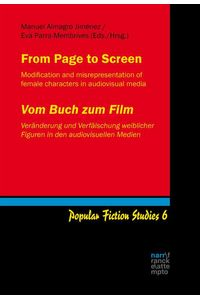 bw-from-page-to-screen-vom-buch-zum-film-narr-francke-attempto-verlag-9783823302339