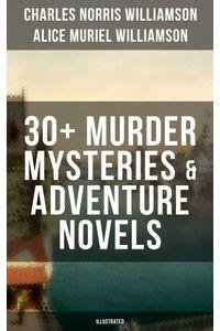 bw-c-n-williamson-amp-a-n-williamson-30-murder-mysteries-amp-adventure-novels-illustrated-musaicum-books-9788075832191
