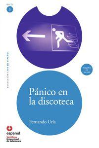Panico En La Discoteca+CD Lee Nivel 3