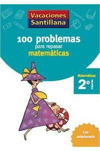100 Problemas Repasar Matematicas 2ºEp 06 Vacaciones