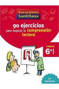 90 Ejercicios Comprension Lectora 6ºEp 06 Vacaciones