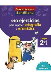 110 Ejercicios Ortografia Gramatica 2ºEp 06 Vacaciones