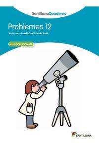 Quadern Problemes Matematiques 12 Cataluña 12