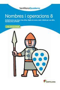 Quadern Nombres I Operacions 8 Cataluña 12