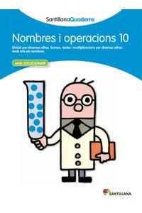 Quadern Nombres I Operacions 10 Cataluña 12