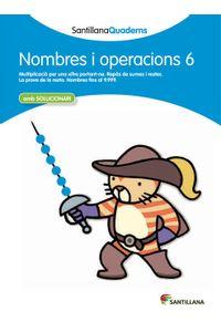 Quadern Nombres I Operacions 6 Cataluña 12