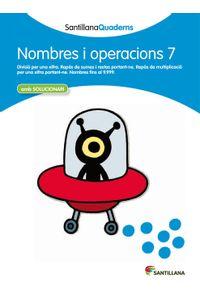 Quadern Nombres I Operacions 7 Cataluña 12