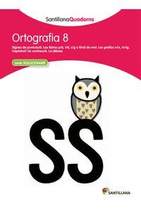 Quadern Ortografia 8 Cataluña 12