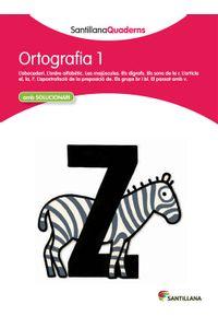 Quadern Ortografia 1 Cataluña 12