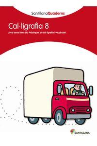 Quadern Caligrafia Pauta 8 Cataluña 12