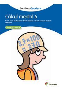 Calcul Mental 6 Catalan 12