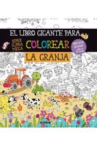 Libro Gigante Para Colorear La Granja