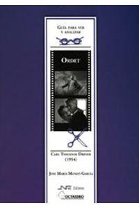 Ordet De Carl Theodor Dreyer 1954 Guia Para Ver Y Analizar
