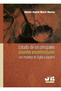bm-estudio-de-los-principales-acuerdos-precontractuales-con-modelos-en-ingles-y-en-espanol-jm-bosch-editor-9788476987681