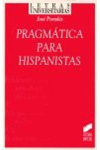 Pragmatica Para Hispanistas