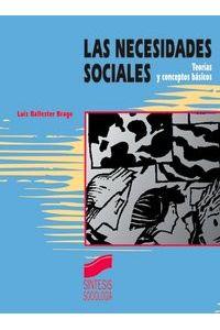 Necesidades Sociales Teoria Y Conceptos