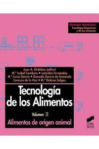 Tecnologia De Los Alimentos II