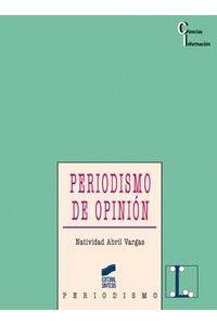 Periodismo De Opinion