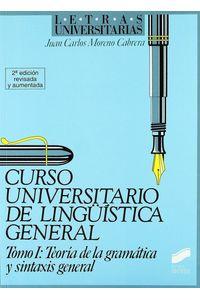 Curso Univ.linguistica I Teoria Gramat.