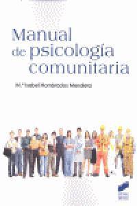 Manual De Psicologia Comunitaria