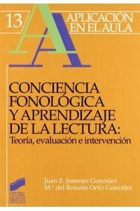 Conciencia Fonologica Y Aprend.lectura