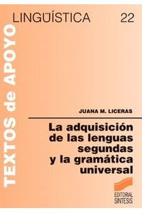 Adquisicion Lenguas Segundas Gramat.universal