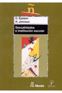 Sexualidades E Institucion Escolar