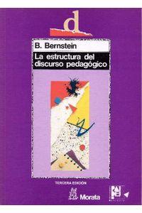La Estructura Del Discurso Pedagogico
