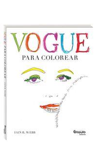 Vogue Para Colorear