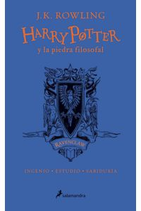 Harry Potter 1 Y La Piedra Filosofal Ravenclaw 20 Aniversar