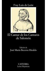 Cantar De Los Cantares De Salomon