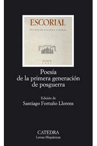 Poesia Primera Generacion De Posguerra