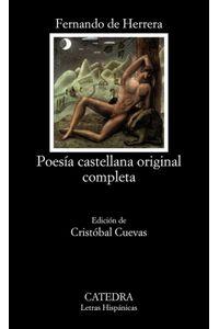 Poesia Castellana Original Completa