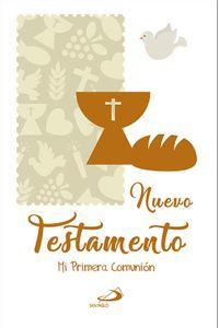 Nuevo Testamento Recuerdo De MI Primera Comunion Tapa Dura