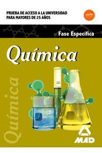 Quimica. Prueba Acceso Universidad Mayores 25 Años