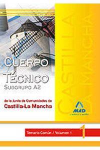Cuerpo Tecnico (Subgrupo A2) De La Junta De Comunidades De C