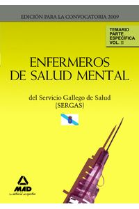 Enfermeros De Salud Mental Del Servicio Gallego De Salud (Se