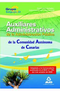 Cuerpo Auxiliar De La Administracion Publica, Comunidad Auto
