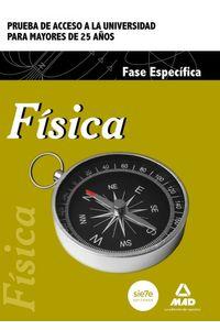 Fisica Fase Especif.prueba Acceso Univ.mayores 25 Años Ne
