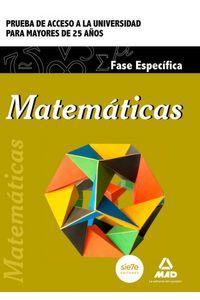 Matematicas 2015 Acceso A La Universidad Mayores 25Años