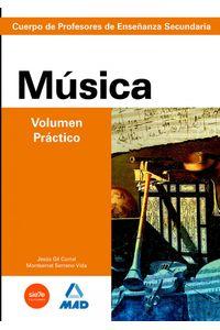 Musica Vol.practico Profesores Eso Temario Prep.oposiciones